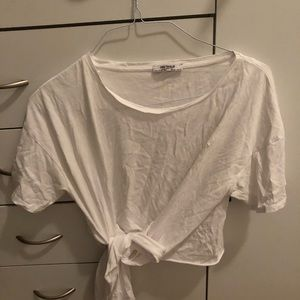 Zara Crop Top with Knot Detail